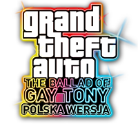 Polska wersja GTA IV: The Ballad of Gay Tony - Logo