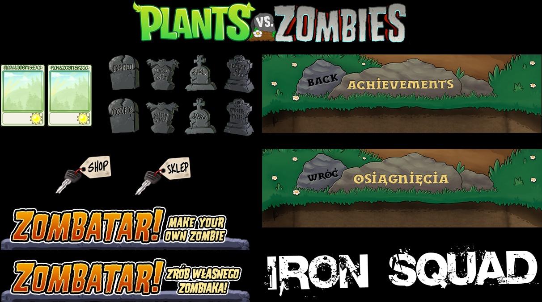 Plants vs. Zombies - tekstury