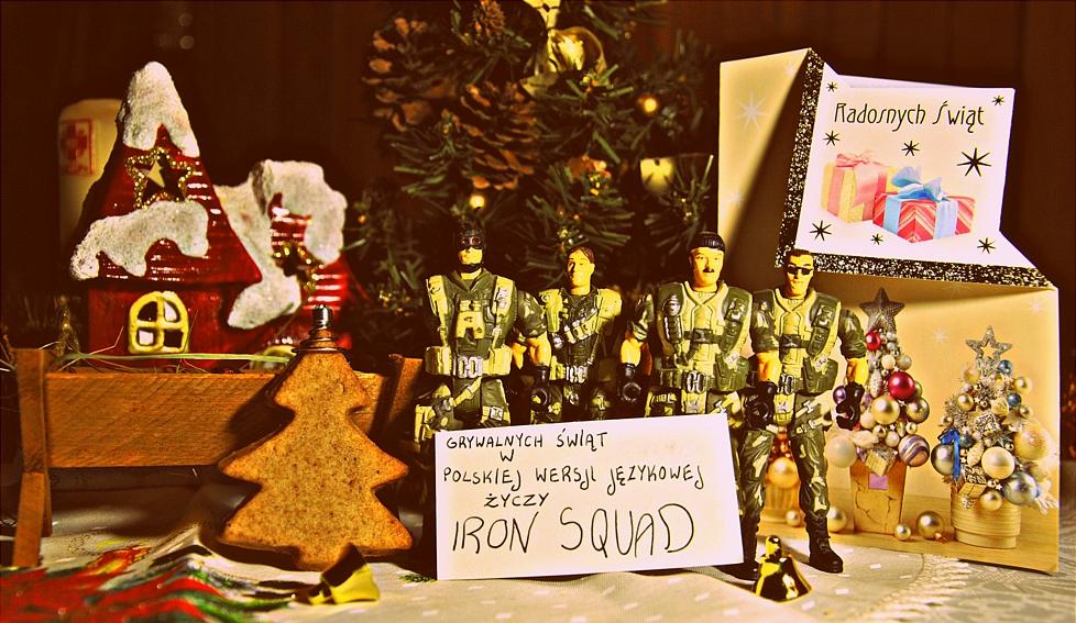 Wesołych świąt życzy Iron Squad