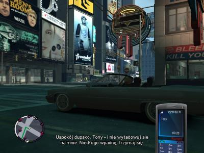 GTA 4: The Ballad of Gay Tony - Spolszczenie 03
